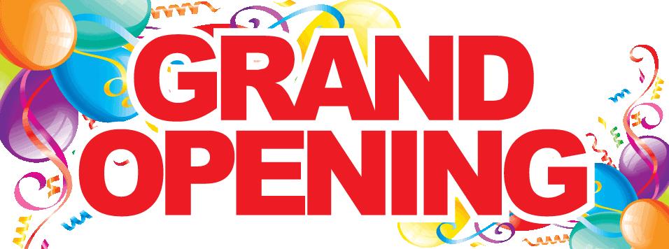 Grand Opening 3 X8