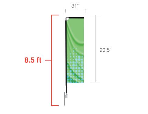 Rectangle Flag Small