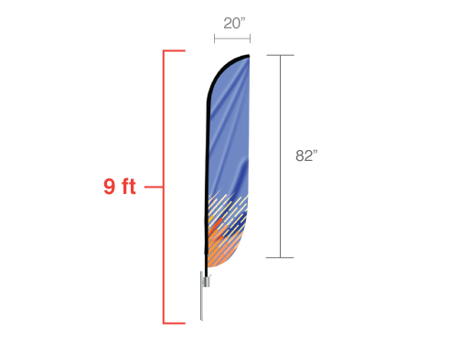 Convex Flag Small