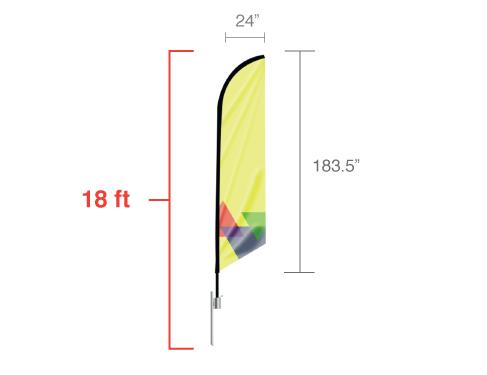 Angled Flag X-Large