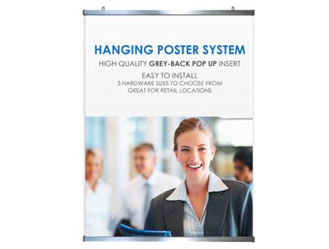 """Snap Poster Hanger <nl/> 48"""" (W)"""