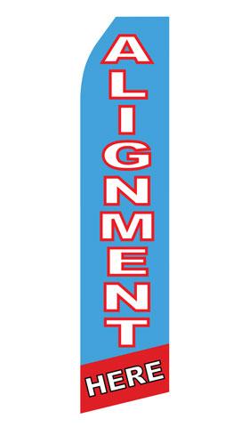 Body Shop Alignment Service Econo Stock Flag