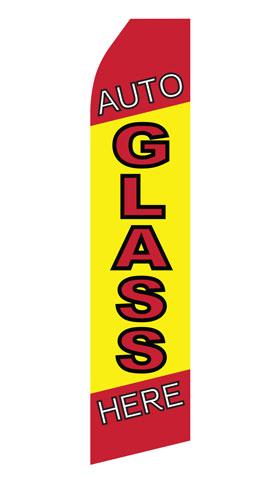 Auto Glass Service Econo Stock Flag