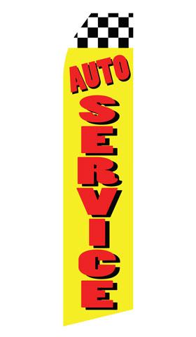 Auto Service Econo Stock Flag