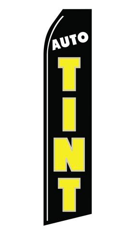 Auto Tint Econo Stock Flag