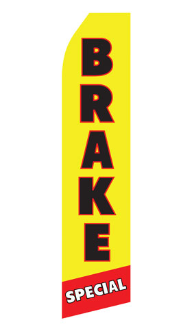 Brake Special Econo Stock Flag