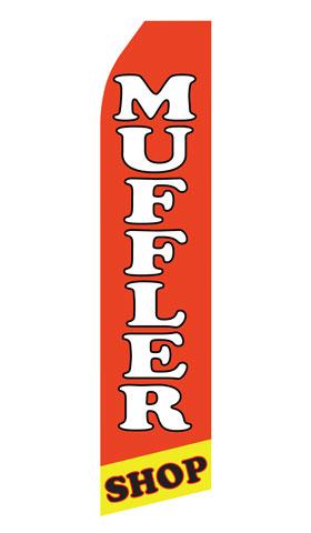 Muffler Shop Econo Stock Flag