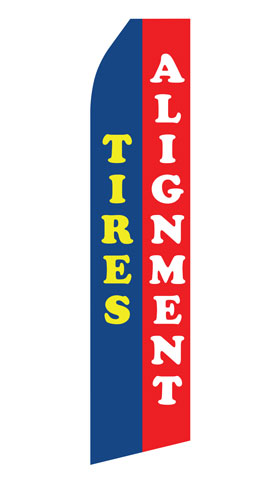Tires Alignment Econo Stock Flag