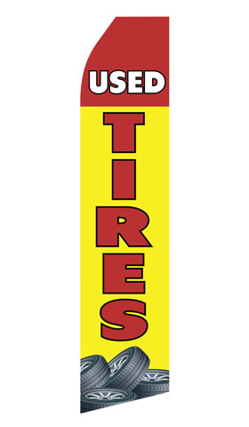 Used Tires Econo Stock Flag