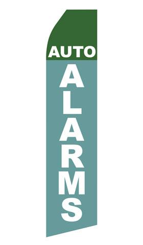 Auto Alarms Econo Stock Flag
