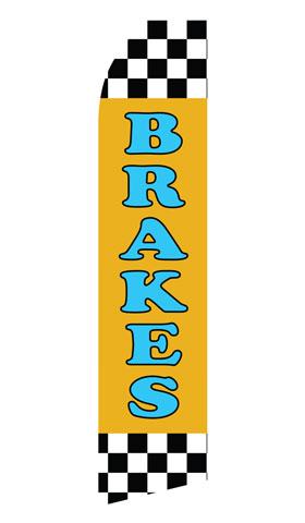Brakes Service Econo Stock Flag