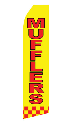 Mufflers Service Econo Stock Flag