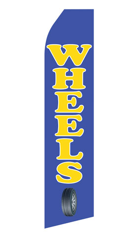 Wheels Service Econo Stock Flag