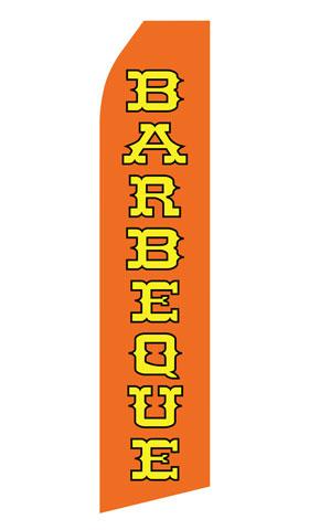 Orange Barbeque Econo Stock Flag