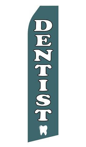 Dentist Econo Stock Flag