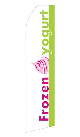 Frozen Yogurt Econo Stock Flag