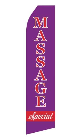 Massage Special Econo Stock Flag
