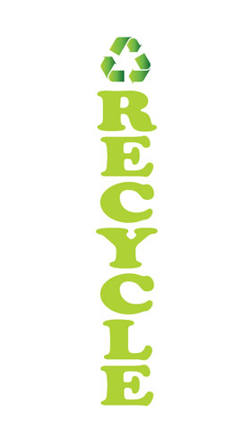 Recycle Econo Stock Flag