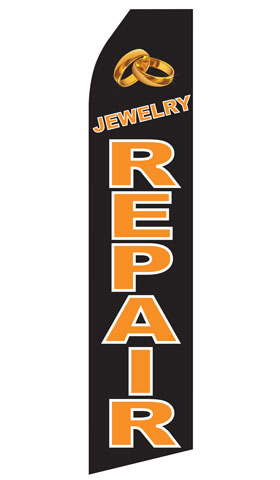 Jewelry Repair Econo Stock Flag