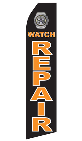 Watch Repair Econo Stock Flag