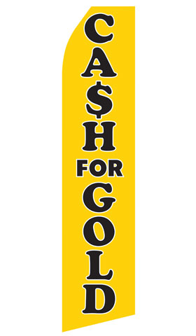 Cash For Gold Econo Stock Flag