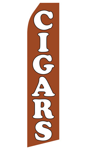 Cigars Econo Stock Flag