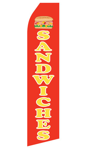 Sandwiches Econo Stock Flag