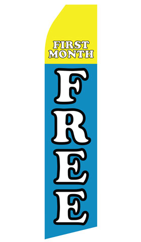 FIrst Month Free Econo Stock Flag