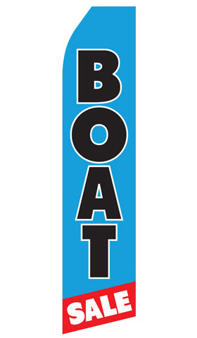 Boat Sale Econo Stock Flag