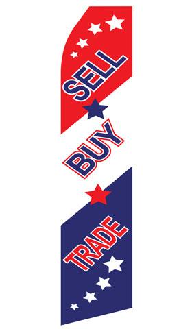 Sell, Buy, Trade Econo Stock Flag