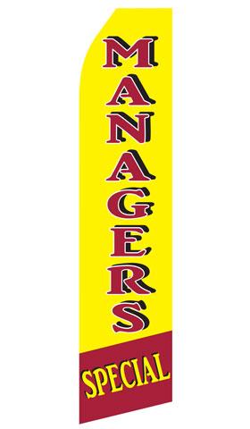 Manager Specials Econo Stock Flag