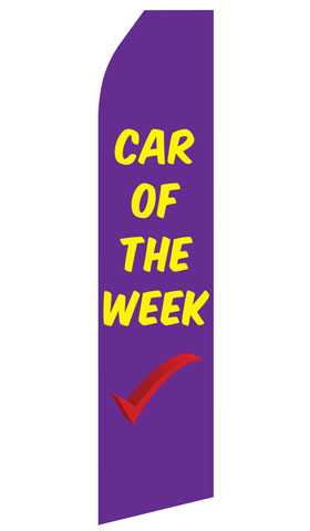 Car of the Week Econo Stock Flag
