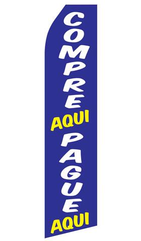Compre Aqui and Pague Aqui Econo Stock Flag