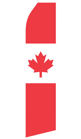 Canadian Econo Stock Flag