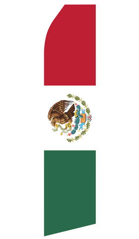 Mexican Flag Econo Stock Flag