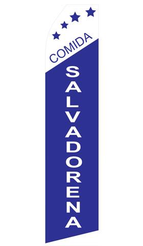 Comida Salvadorena Econo Stock Flag