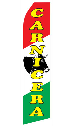 Carnicera Econo Stock Flag