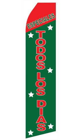 Especiales Todos Los Dias Econo Stock Flag