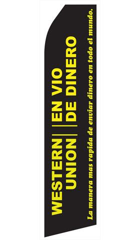 Western Union En Vio De Dinero Econo Stock Flag