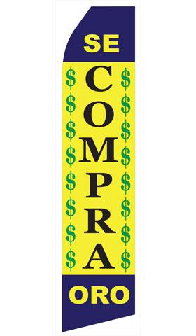 Se Compra Oro Econo Stock Flag