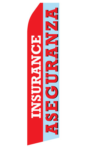 Insurance Aseguranza Econo Stock Flag