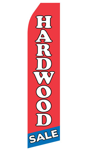 Hardwood Sale Econo Stock Flag