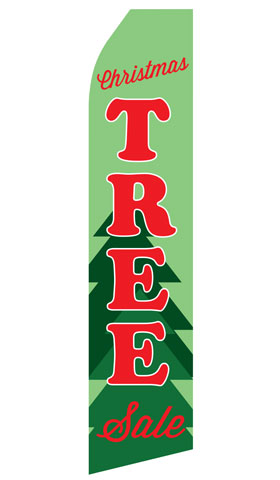 Christmas Tree Sale Econo Stock Flag