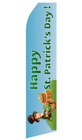 Happy St. Patricks Day Econo Stock Flag