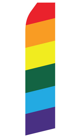 Rainbow Econo Stock Flag