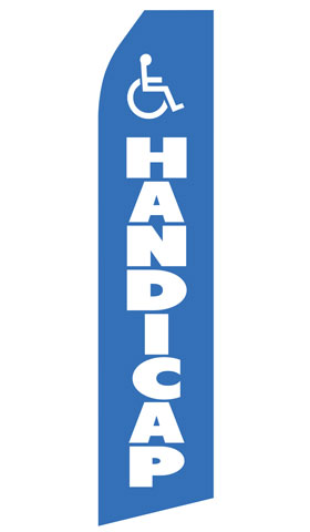 Handicap Econo Stock Flag