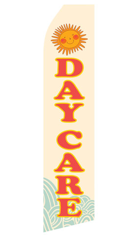 Day Care Econo Stock Flag