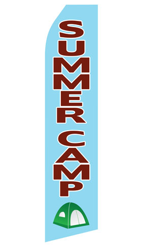 Summer Camp Econo Stock Flag