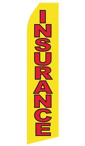 Yellow Insurance Econo Stock Flag