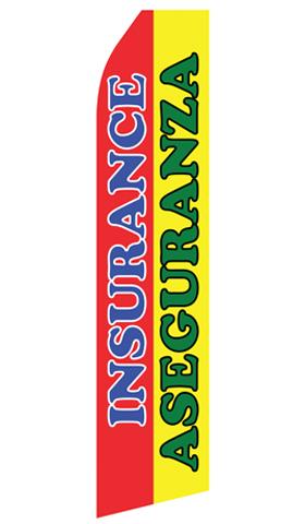 Insurance Aseguranza Econo Stock Flag